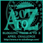 Click on badge to see other A to Z Posts