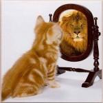 lion_mirror