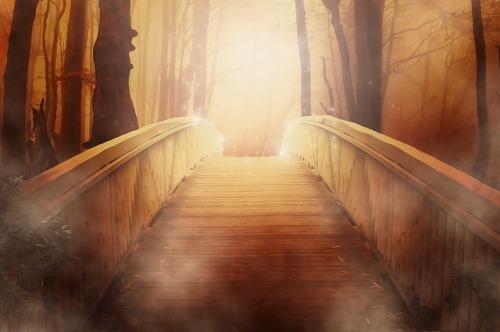 https://pixabay.com/en/bridge-golden-light-mystical-19513/